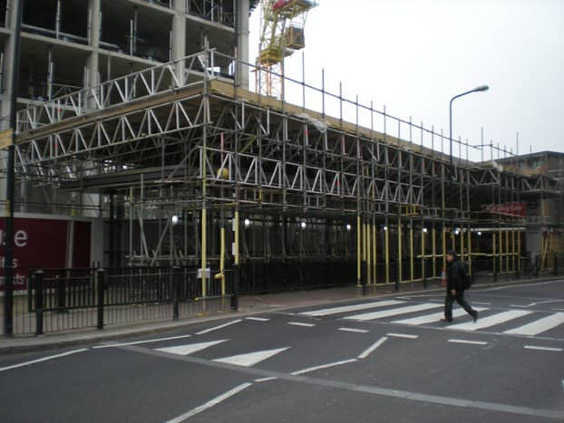 Scaffolding Services: Platform Gantry - weight