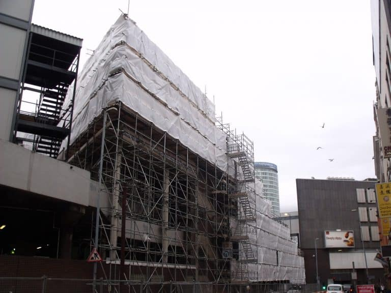 Scaffold Hire in the Birmingham, West Midlands Area. RG Scaffolding-Birmingham
