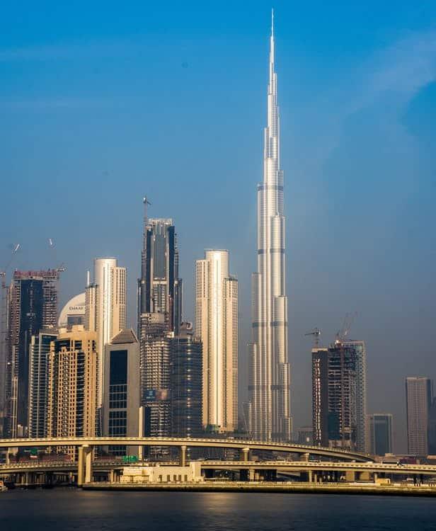 The Burj Khalifa - the worlds best scaffolding project