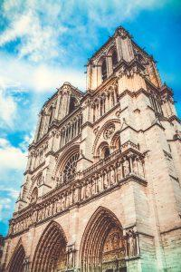 Low-angle Photography of Notre-Dame | Scaffold | RG Scaffolding Birmingham