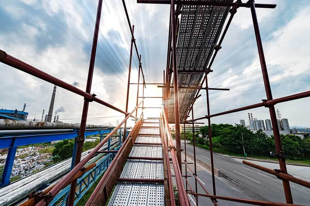 Some people would career altogether. So, what about trade? Are you thinking about scaffolding as a career?