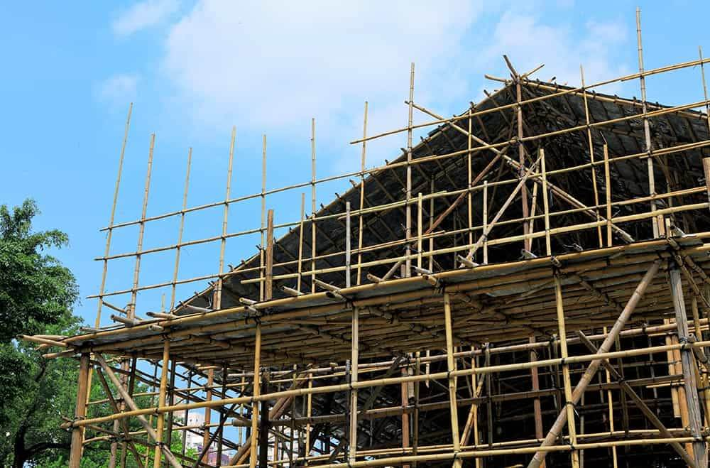 How much is it to hire scaffolding in 2020?