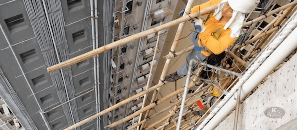 Why Hong Kong uses Bamboo Scaffolding?