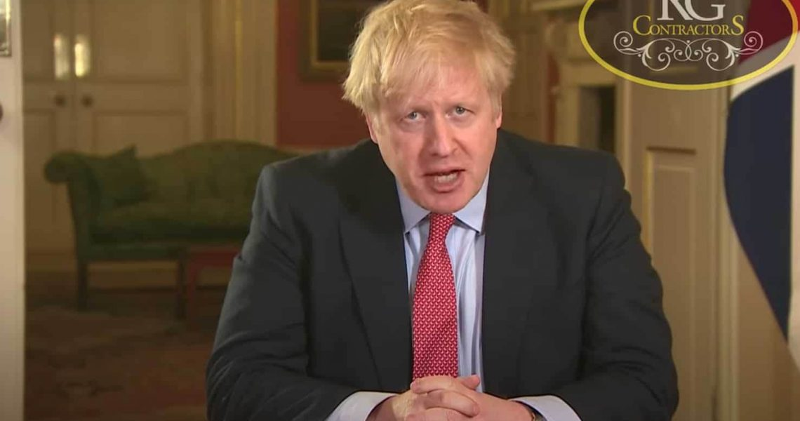 RG Scaffolding Birmingham - Boris Johnson announces Lockdown