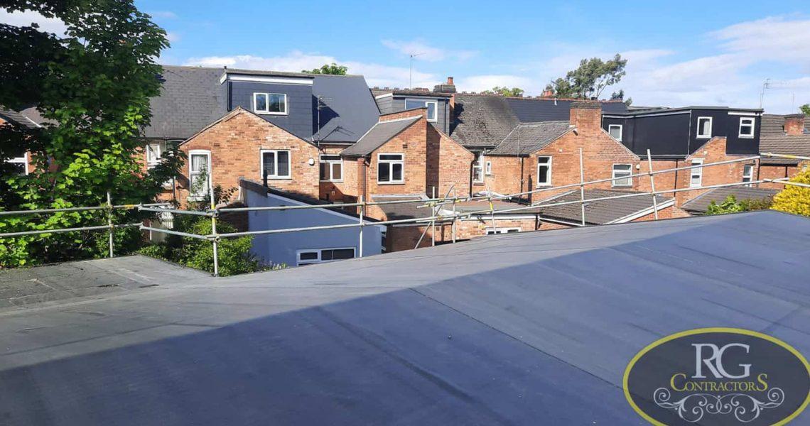 RG Scaffolding Birmingham - Roof Gantry